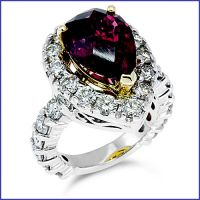 18k fashion diamond ring